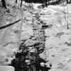 Black and White: Icicle Creek
