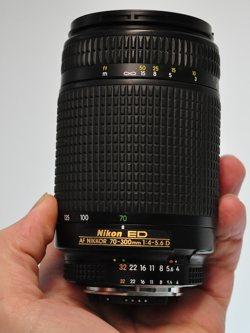 Nikon 70-300mm AF f:5.5-5.6D ED Lens
