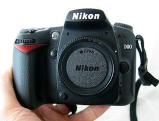 Nikon D90 DSLR Camera