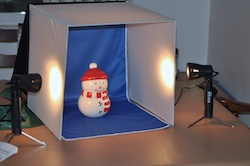 Merax One Shot Photo Studio set up
