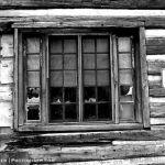 Log Building Window North Park IR