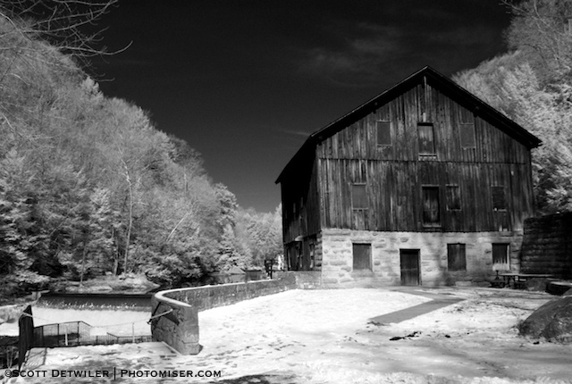 McConnell's Mill Infrared, Black and White