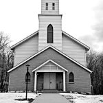 St Paul Lutheran Church, Flag Hill, North Park; infrared