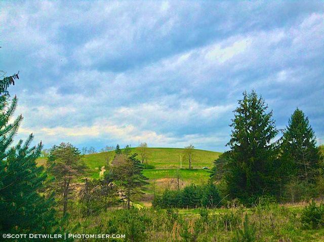 Cloudy Hilltop