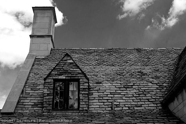 Hartwood Mansion Roof