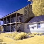 Old Stone House, false color IR