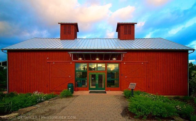 barn restored as a program center