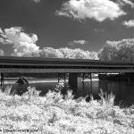 Harpersfield Bridge, black and white