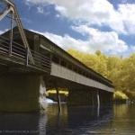 Harpersfield Bridge False Color