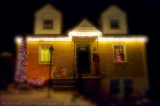 Fuzzy Christmas Lights