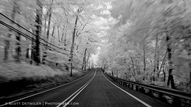 Infrared Road