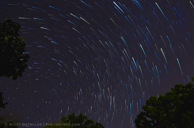 Star Trail Comets